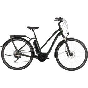 Cube Town Sport Hybrid EXC 500 E-citybike Trapez grøn